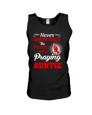 Praying Auntie Unisex Tank thumbnail