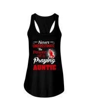 Praying Auntie Ladies Flowy Tank thumbnail