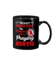 Praying Auntie Mug thumbnail