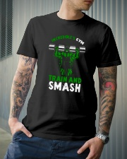 Train And Smash Classic T-Shirt lifestyle-mens-crewneck-front-6