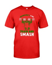Train And Smash Classic T-Shirt front
