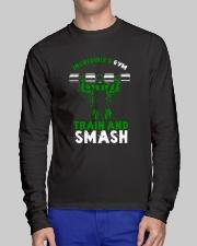 Train And Smash Long Sleeve Tee lifestyle-unisex-longsleeve-front-1