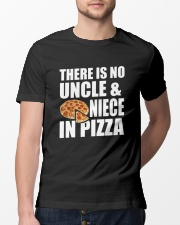 There Is No Uncle And Niece In Pizza Classic T-Shirt lifestyle-mens-crewneck-front-13