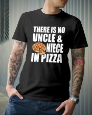 There Is No Uncle And Niece In Pizza Classic T-Shirt lifestyle-mens-crewneck-front-6