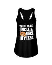 There Is No Uncle And Niece In Pizza Ladies Flowy Tank thumbnail