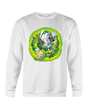 Adventure Pugs Crewneck Sweatshirt thumbnail