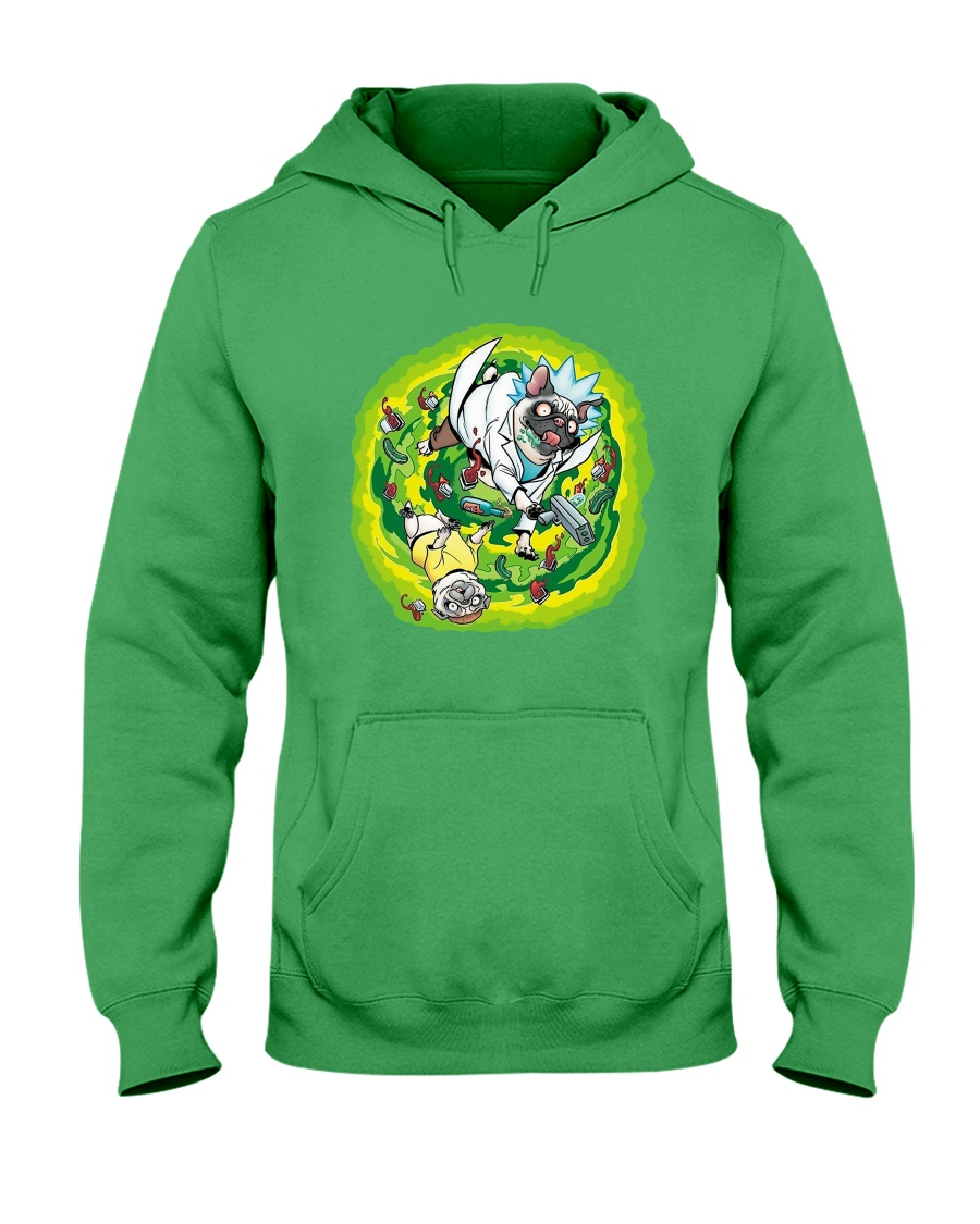 Adventure Pugs Hooded Sweatshirt