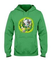 Adventure Pugs Hooded Sweatshirt front