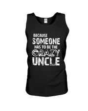 The Crazy Uncle Unisex Tank thumbnail