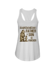 The Love Between Father And Son Is Forever Ladies Flowy Tank thumbnail
