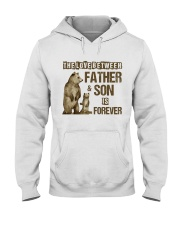 The Love Between Father And Son Is Forever Hooded Sweatshirt thumbnail