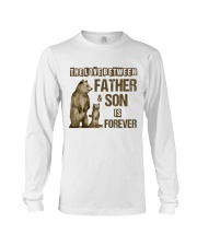 The Love Between Father And Son Is Forever Long Sleeve Tee thumbnail