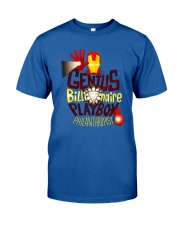 Genius Billionaire Classic T-Shirt front