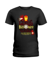 Genius Billionaire Ladies T-Shirt thumbnail