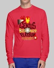 Genius Billionaire Long Sleeve Tee lifestyle-unisex-longsleeve-front-1