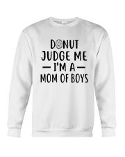 Donut Judge Me Crewneck Sweatshirt thumbnail