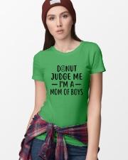 Donut Judge Me Ladies T-Shirt lifestyle-women-crewneck-front-9