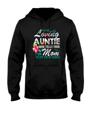 I'm The Loving Auntie Hooded Sweatshirt thumbnail