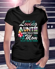 I'm The Loving Auntie Ladies T-Shirt lifestyle-women-crewneck-front-7