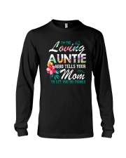 I'm The Loving Auntie Long Sleeve Tee thumbnail