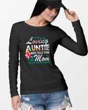 I'm The Loving Auntie Long Sleeve Tee lifestyle-unisex-longsleeve-front-4