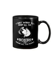 I Just Want To Adopt All The Boxers Mug thumbnail