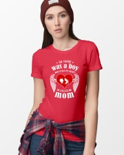 So There Was A Boy Who Stole My Heart Ladies T-Shirt lifestyle-women-crewneck-front-9