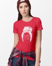 I'm A Mom Ladies T-Shirt lifestyle-women-crewneck-front-9