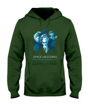 Because Space Unicorns Hooded Sweatshirt thumbnail