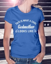 This Is What A Cool Godmother Looks Like Ladies T-Shirt lifestyle-women-crewneck-front-7
