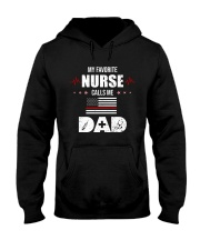 My Favorite Dad Calls Me Dad Hooded Sweatshirt front