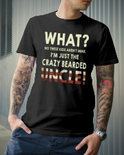 I'm Just The Crazy Bearded Uncle Classic T-Shirt lifestyle-mens-crewneck-front-6