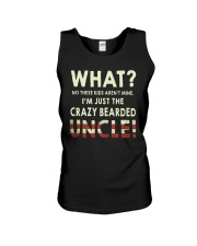 I'm Just The Crazy Bearded Uncle Unisex Tank thumbnail