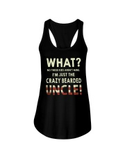 I'm Just The Crazy Bearded Uncle Ladies Flowy Tank thumbnail