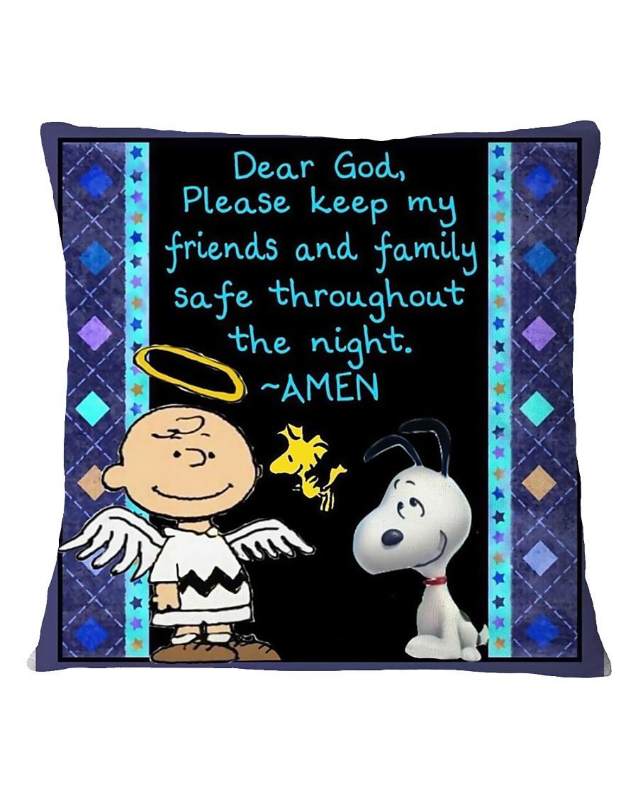 Dear God Square Pillowcase