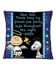 Dear God Square Pillowcase front
