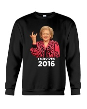 I Survived 2016 Crewneck Sweatshirt thumbnail