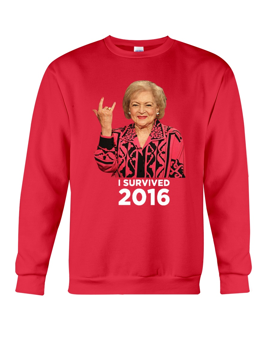 I Survived 2016 Crewneck Sweatshirt