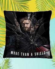 More Than A Shield Square Pillowcase aos-pillow-square-front-lifestyle-30