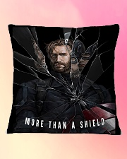 More Than A Shield Square Pillowcase aos-pillow-square-front-lifestyle-9