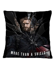 More Than A Shield Square Pillowcase front