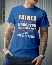 Father And Daughter Classic T-Shirt lifestyle-mens-crewneck-front-6