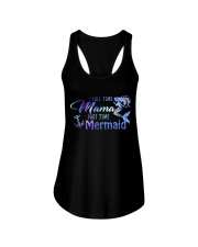 Full Time Mama Part Time Mermaid Ladies Flowy Tank thumbnail