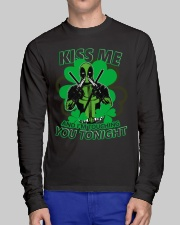 Kiss Me And I'm Touching You Tonight Long Sleeve Tee lifestyle-unisex-longsleeve-front-1