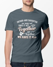 Father And Daughter Classic T-Shirt lifestyle-mens-crewneck-front-13