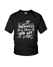 Happiness Is Where You Are Youth T-Shirt thumbnail