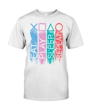 Eat Play Sleep Repea Classic T-Shirt front
