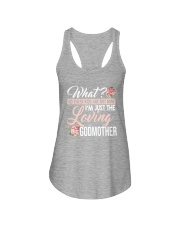I'm Just The Loving Godmother Ladies Flowy Tank thumbnail