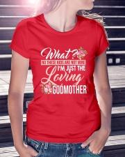 I'm Just The Loving Godmother Ladies T-Shirt lifestyle-women-crewneck-front-7