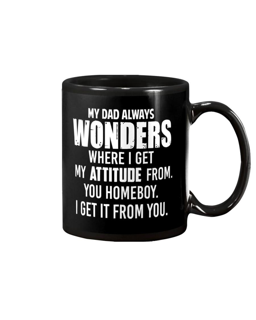 My Dad Always Wonder Mug